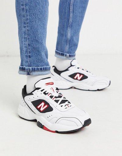 Stivali Bianco uomo Sneakers bianche e nere - New Balance - Bianco - 452