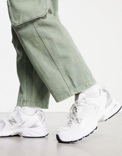 Sneackers Bianco uomo Sneakers bianco metallizzato - New Balance 530