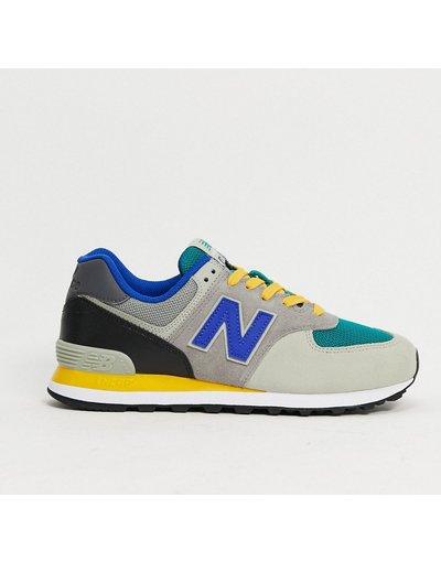 Sneackers Grigio uomo Sneakers multi grigio - New Balance - 574