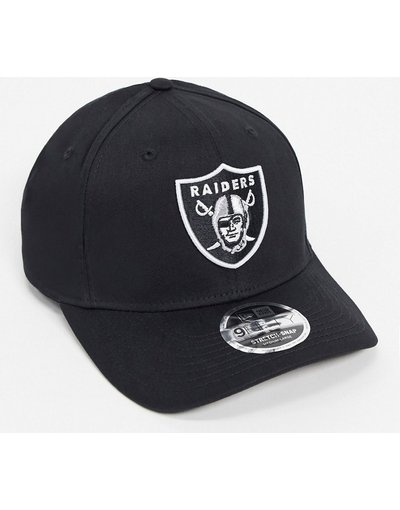 Cappello Nero uomo 9fifty OR Raiders - Snapback nero - New Era