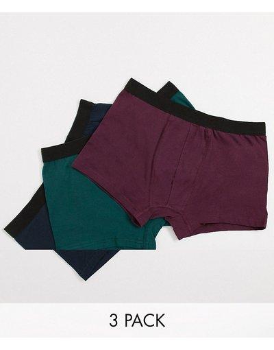 Intimo Multicolore uomo Confezione da 3 boxer - Multicolore - New Look