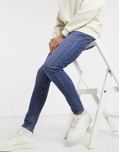 Jeans Blu uomo Jeans skinny blu medio - New Look