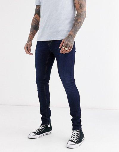 Jeans Blu uomo Jeans skinny blu medio slavato - New Look