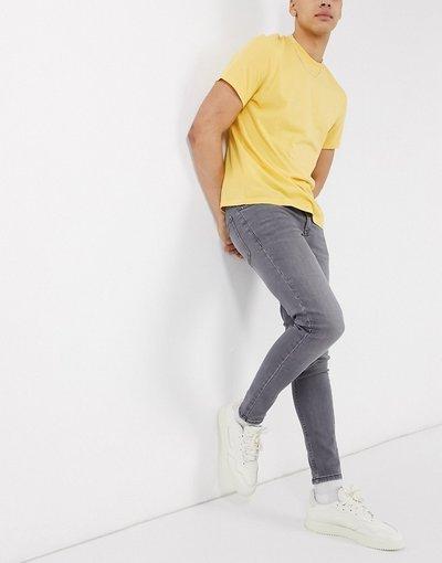 Jeans Grigio uomo Jeans skinny lavaggio grigio - New Look