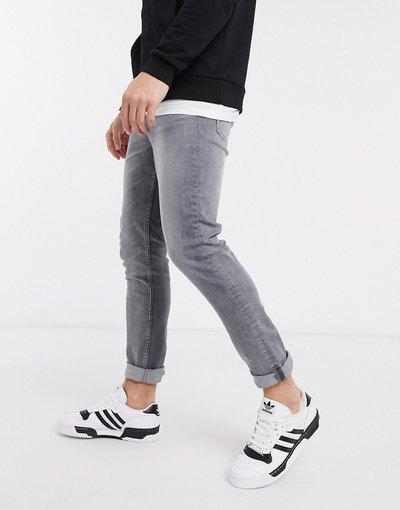 Jeans Grigio uomo Jeans slim lavaggio grigio chiaro - New Look