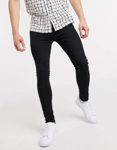 Jeans Nero uomo Jeans spray on neri - New Look - Nero