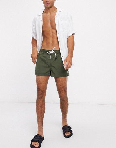 Costume Verde uomo Pantaloncini da bagno corti kaki - New Look - Verde