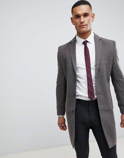 Grigio uomo Soprabito elegante grigio - New Look