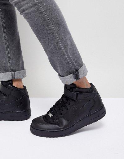 Sneackers Nero uomo Force 1 Mid'07 - Sneakers nere - Nike Air - Nero