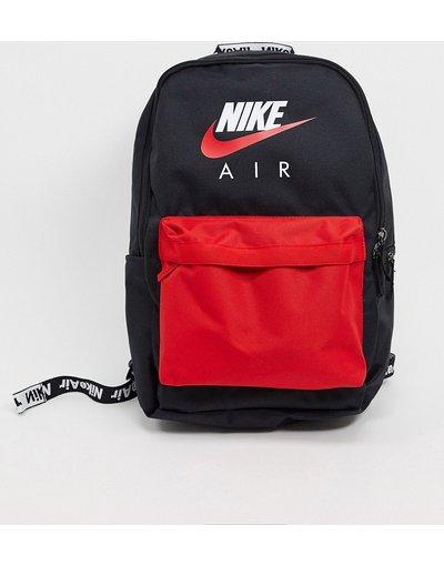Borsa Nero uomo Zaino nero/rosso - Heritage - Nike Air