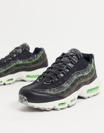 Stivali Nero uomo Air Max 95 Revival - Sneakers nere - Nike - Nero