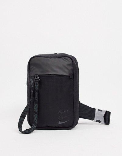 Borsa Bianco donna Borsa a tracolla nera con tiralampo sul davanti - Essentials - Bianco - Nike