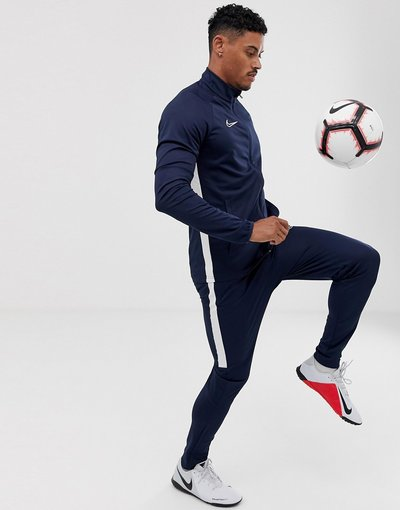 Calcio Navy uomo Nike Football - Tuta blu navy - Academy