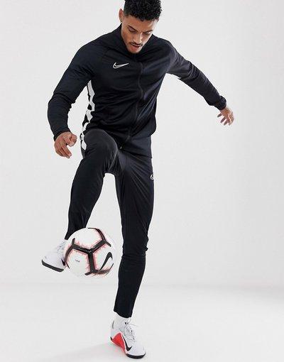 Calcio Nero uomo Nike Football - Tuta nera - Academy - Nero