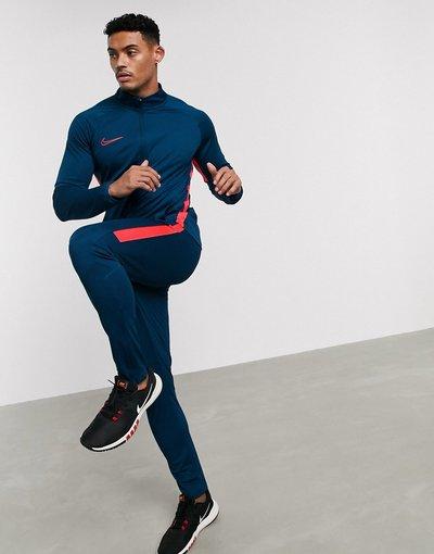 Calcio Blu uomo Tuta sportiva blu e rosa - Nike Football