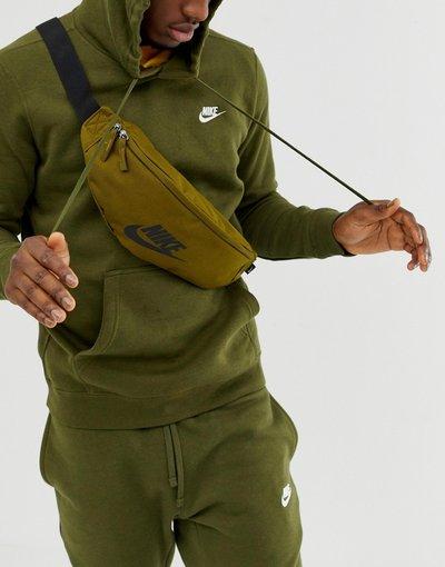 Borsa Verde uomo Marsupio verde con logo - Futura - Nike