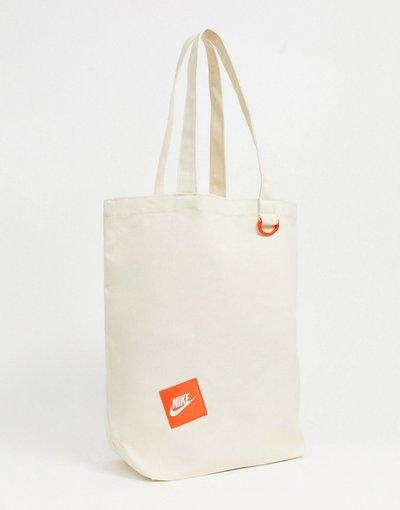 Borsa Bianco uomo Maxi borsa bianco sporco - Nike Heritage