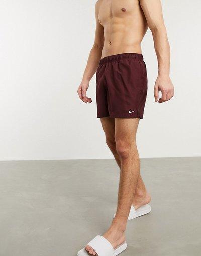 Costume Rosso uomo volley bordeaux da 5- Pantaloncini beach - Nike Swimming - Rosso