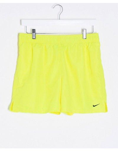 Costume Giallo uomo volley gialli da 5''- Pantaloncini beach - Nike Swimming - Giallo