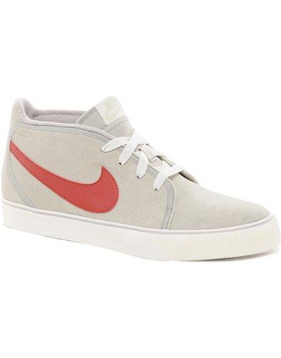 Grigio uomo Scarpe da ginnastica scamosciate - Toki - Grigio - Nike