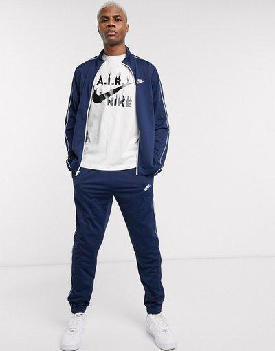 Novita Navy uomo Tuta sportiva blu navy - Nike