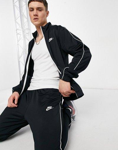Novita Nero uomo Tuta sportiva nera BV3034 - Nike - Nero - 010