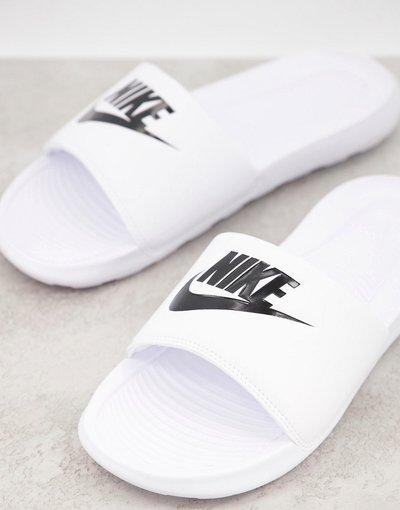 Novita Nero uomo Sliders bianche - Victori One - Nike - Nero