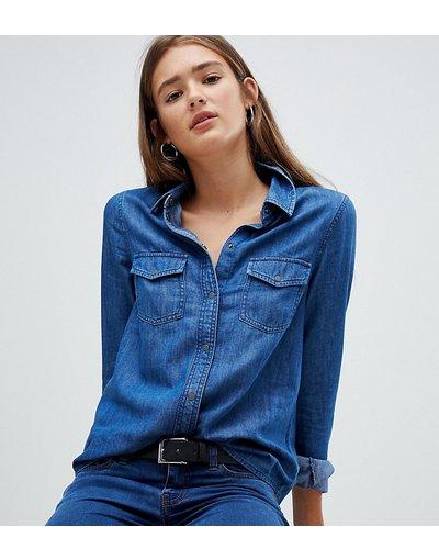 Camicia Blu donna Camicia di jeans - Noisy May - Blu