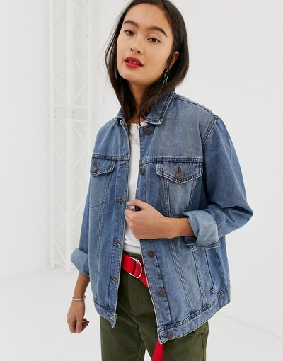 Blu donna Giacca di jeans oversize - Noisy May - Blu