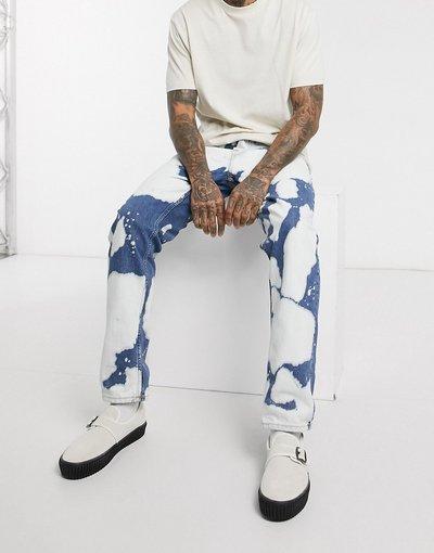 Jeans Blu uomo Jeans regular fit affusolati tie - Steady Eddie II - Nudie Jeans Co - dye - Blu