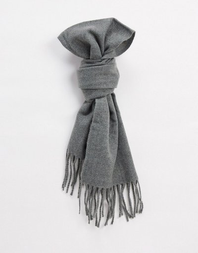 Grigio uomo Sciapra in lana con nappe grigia - Only&Sons - Grigio