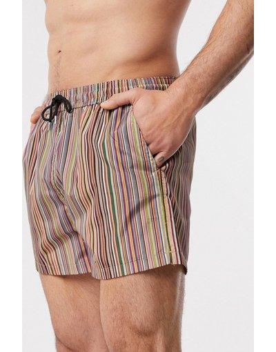 Costume Multicolore uomo Pantaloncini da bagno classici a righe multi - Paul Smith - Multicolore
