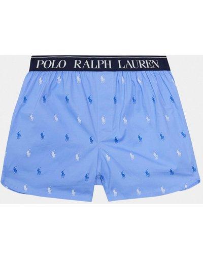 Calze Blu uomo Boxer blu con logo - Polo Ralph Lauren