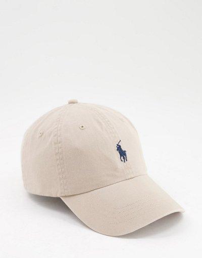 Cappello Beige uomo Cappello con visiera beige con logo - Polo Ralph Lauren