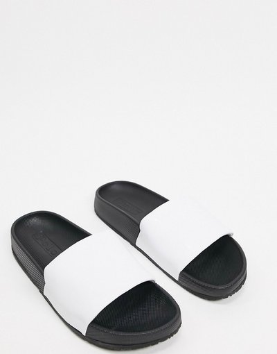 Infradito Bianco uomo Polo Ralph Lauren - Slider bianche - Bianco
