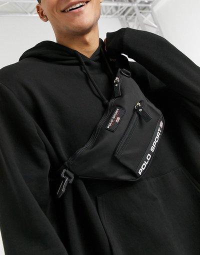 Borsa Nero uomo Marsupio con logo, colore nero - Polo Ralph Lauren - Sport Capsule