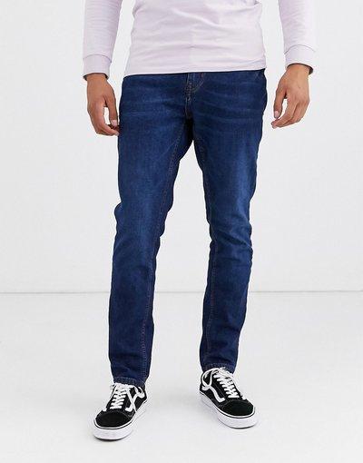 Jeans Blu uomo Jeans slim comfort blu scuro - Pull&Bear