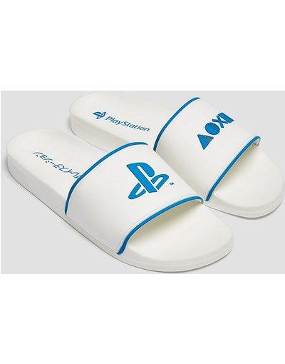 Novita Bianco uomo Sliders bianche - PlayStation - Pull&Bear - Bianco