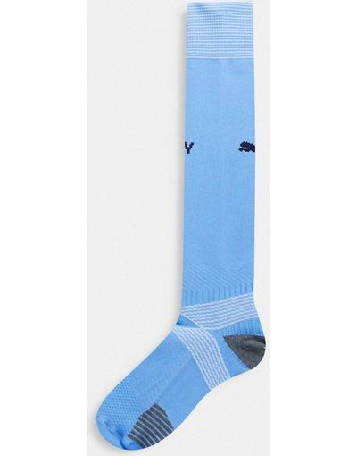 Calcio Blu uomo Manchester City home - Puma Calcio - Calzini blu