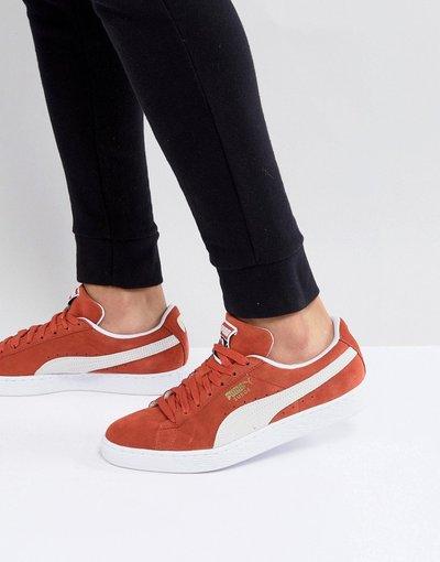 Arancione uomo Sneakers scamosciate arancioni - Classic 36534707 - Arancione - Puma