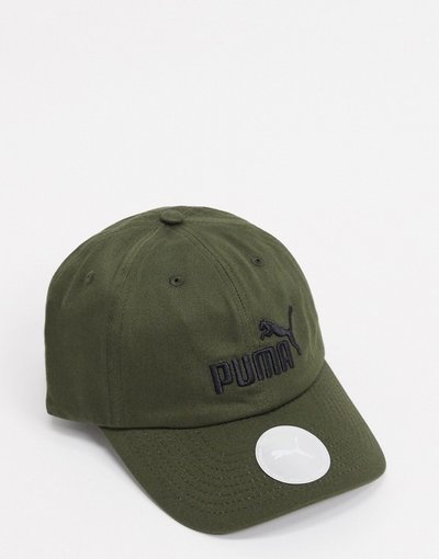 Cappello Verde uomo Berretto verde scuro - Essentials - Puma