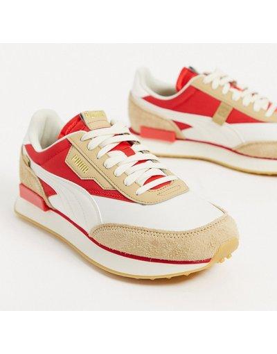 Stivali Beige uomo Sneakers beige - Future Rider - Puma
