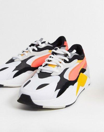 Stivali Nero uomo Sneakers effetto puzzle nere - Puma - Nero - RS - X3