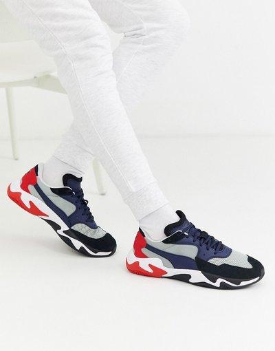 Stivali Bianco uomo Sneakers blu multi - Storm Origin - Bianco - Puma
