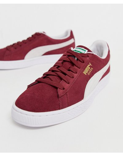 Sneackers Rosso uomo Suede classic - Sneakers rosse - Puma - Rosso