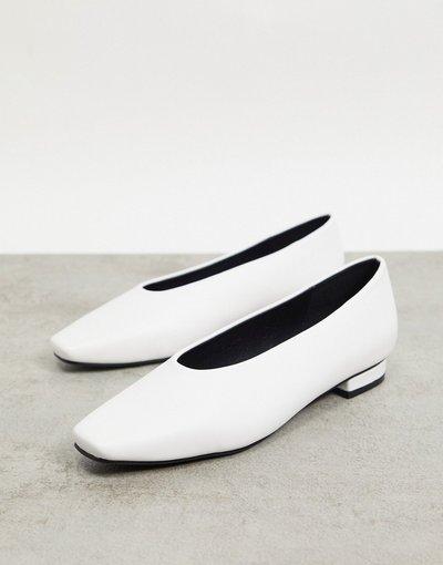 Scarpa bassa Bianco donna Scarpe basse bianche con tomaia alta - Penny - Bianco - RAID