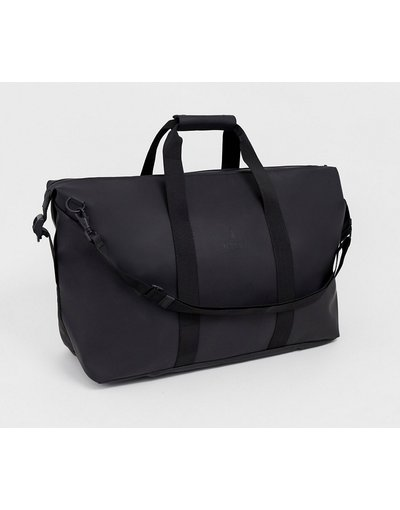 Borsa Nero uomo Borsa weekend impermeabile nera - Rains - 1320 - Nero