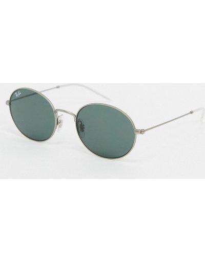 Occhiali Argento uomo Occhiali da sole rotondi argento ORB3594 - ban - Ray