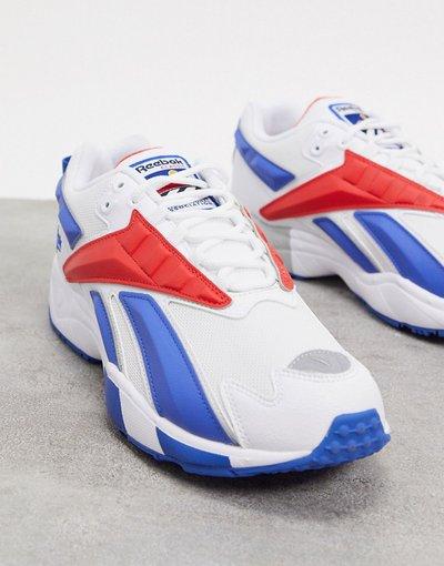 Stivali Bianco uomo Sneakers bianco rétro - Reebok classics - INTV 96