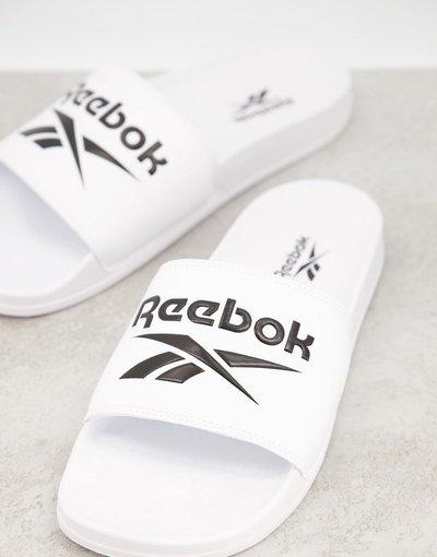 Novita Bianco uomo Reebok Classics - Sliders bianche - Bianco
